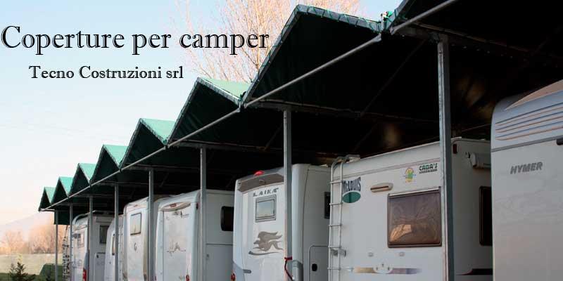 Realizzazione coperture camper