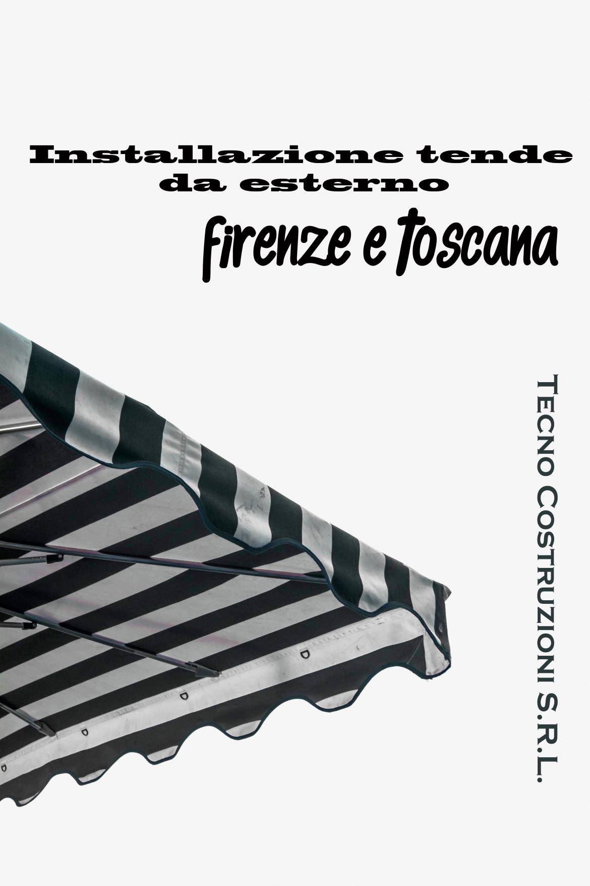 Installazione tende da esterno Firenze